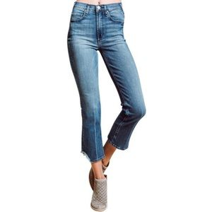 McGuire Gainsbourg Bootcut Cropped Destroyed Hem